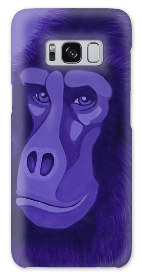 Violet Gorilla Galaxy S8 Case