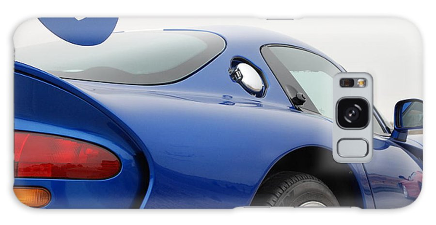 Wheels Galaxy S8 Case featuring the photograph Viper And Ferrari by Margaret Fortunato