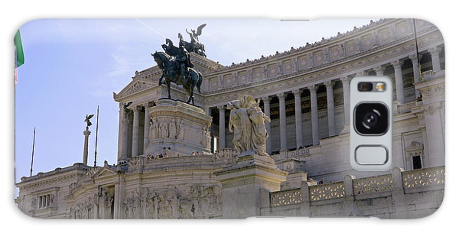 Rome Galaxy S8 Case featuring the photograph Vittorio Emanuele II Monument by Tony Murtagh