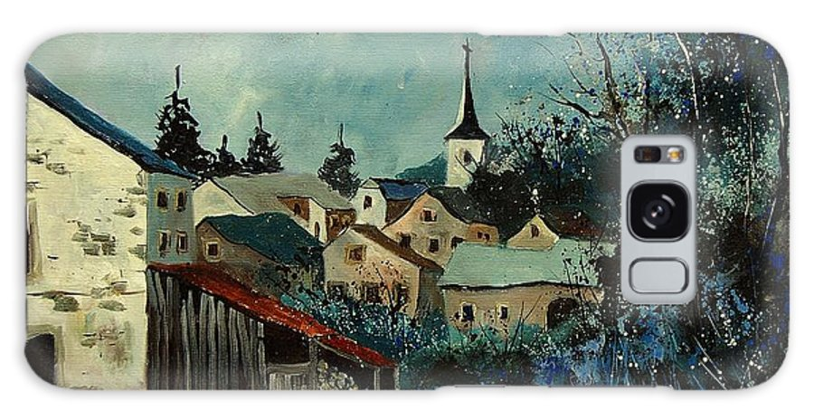 Village Galaxy S8 Case featuring the painting Vivy Bouillon by Pol Ledent