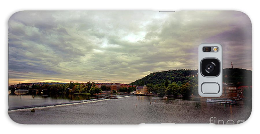 Prague Galaxy S8 Case featuring the photograph Vltava View 1 by Madeline Ellis