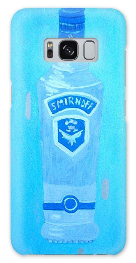 Pop Art Galaxy S8 Case featuring the painting Vodka by Patrice Tullai
