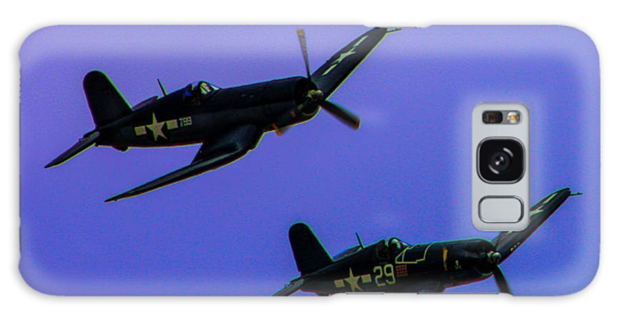 Vought F-4u Galaxy S8 Case featuring the photograph Vought F-4u Corsairs by Tommy Anderson