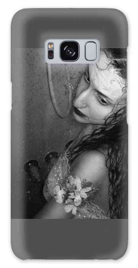Emotive Galaxy S8 Case featuring the photograph Vulnerable - Self Portrait by Jaeda DeWalt