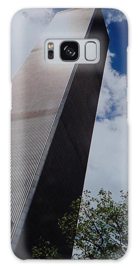 Wtc Galaxy Case featuring the photograph W T C 1 And 2 by Rob Hans