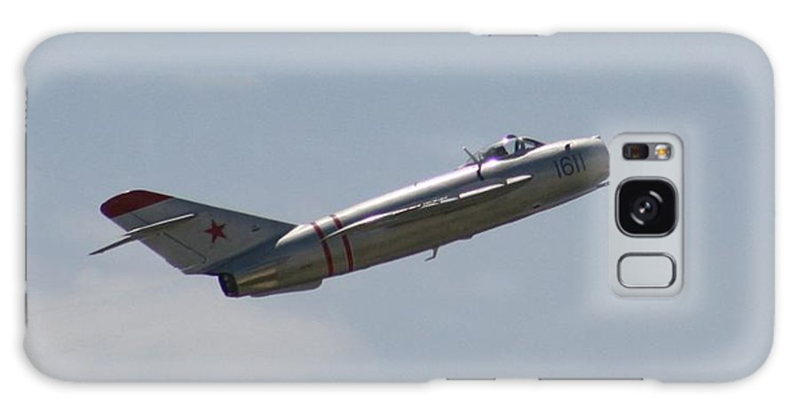 Airplane Galaxy S8 Case featuring the photograph Wafb 09 Mig 17 Russian 4 by David Dunham