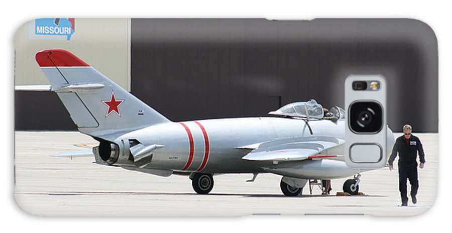 Airplane Galaxy S8 Case featuring the photograph Wafb 09 Mig 17 Russian 6 by David Dunham