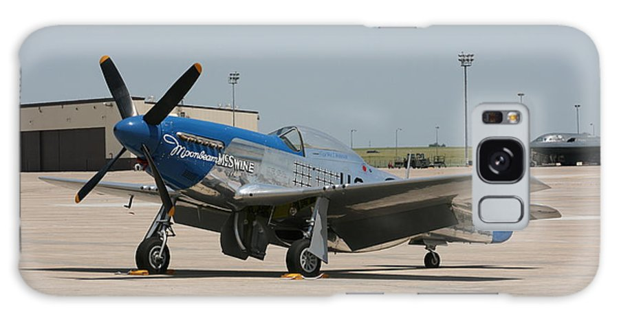 Airplane Galaxy S8 Case featuring the photograph Wafb 09 P-51 Mustang 3 - Darling Of The Sky by David Dunham