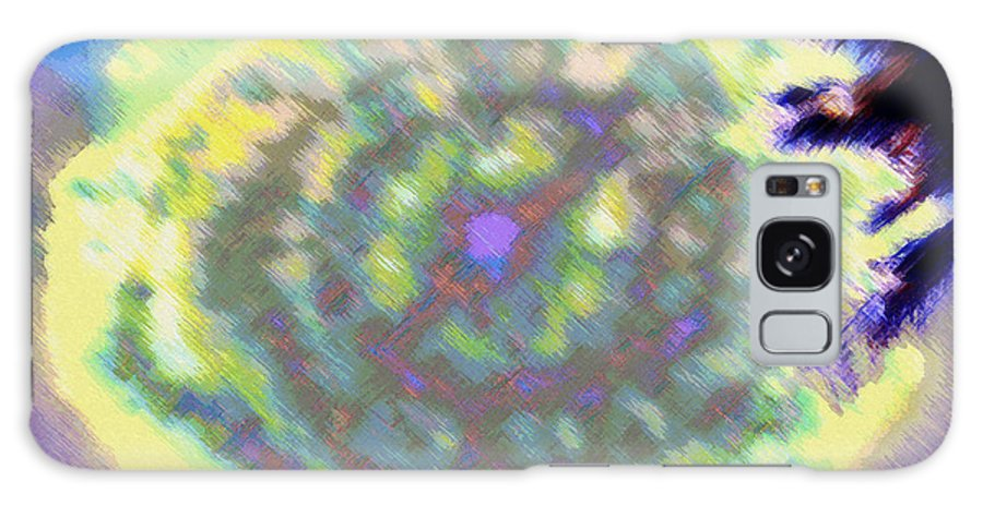 Rainbow Colors Digital Galaxy Case featuring the photograph Waho Ka Manawa by Kenneth Grzesik