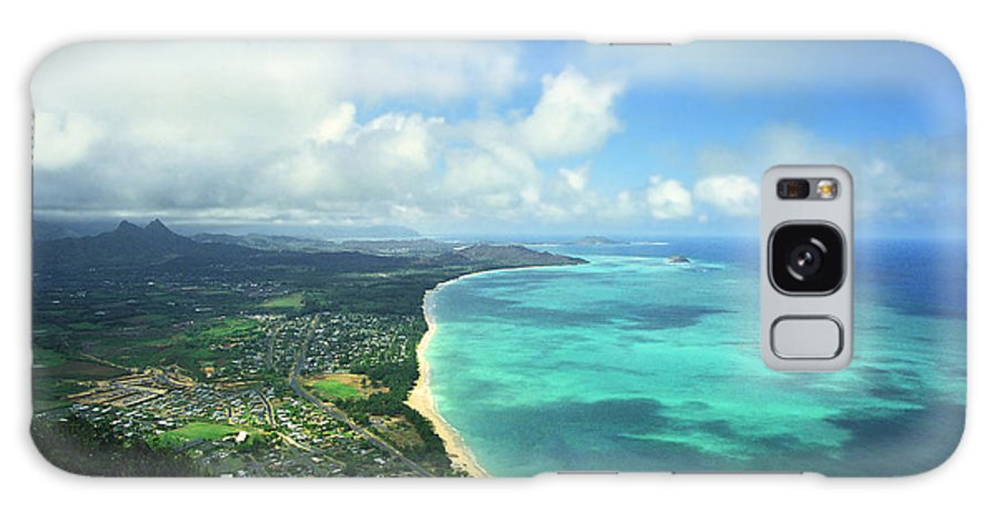 Waimanalo Galaxy Case featuring the photograph Waimanalo Bay by Kevin Smith