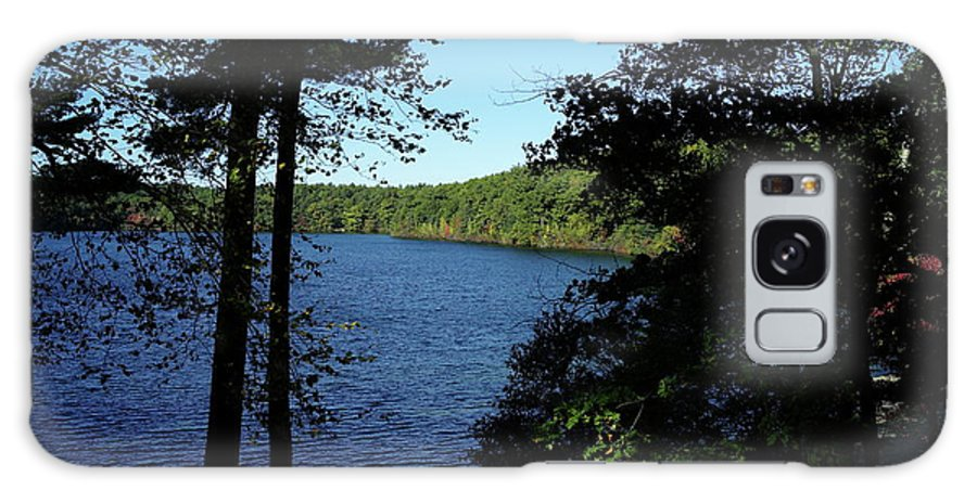 Walden Galaxy S8 Case featuring the photograph Walden Pond End Of Summer by Lawrence Christopher