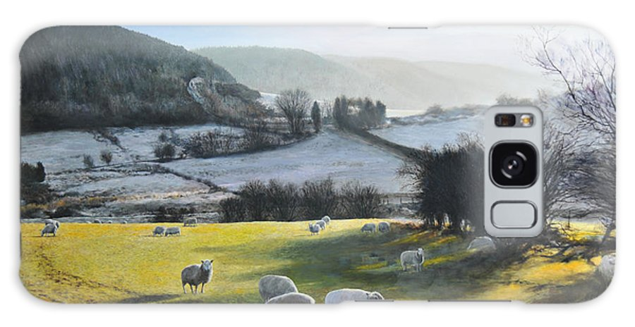 Wales Galaxy S8 Case featuring the painting Wales. by Harry Robertson