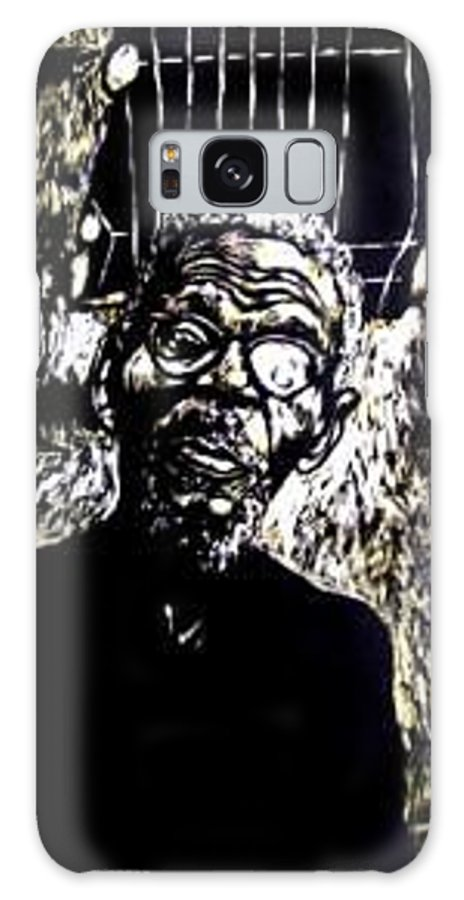 Galaxy S8 Case featuring the mixed media Walimu Wally by Chester Elmore