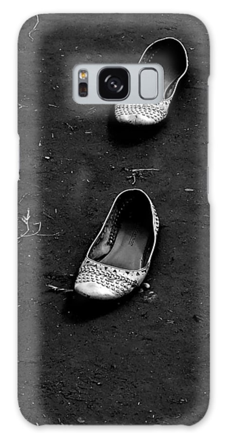 Shoes Galaxy S8 Case featuring the photograph Walk A Mile by Nada Frazier