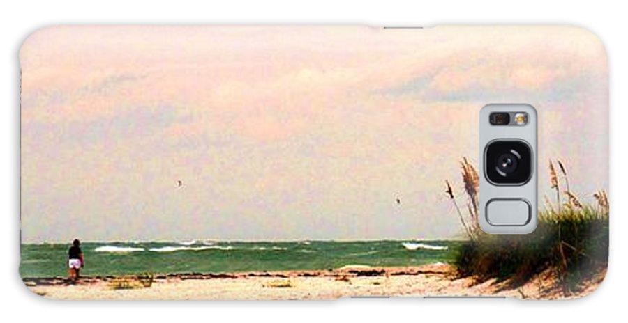 Florida Galaxy S8 Case featuring the photograph Walk The Beach by Ian MacDonald