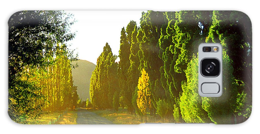 Wanaka Galaxy Case featuring the photograph Wanaka Morning Light by Kevin Smith