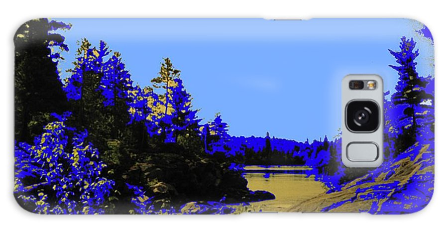 Northern Galaxy S8 Case featuring the photograph Wanapitae River Morning by Ian MacDonald
