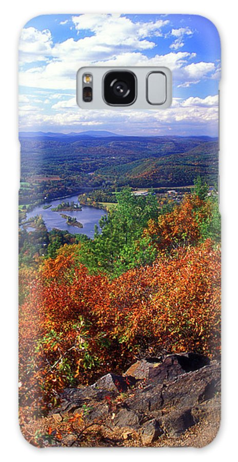 Hinsdale Galaxy S8 Case featuring the photograph Wantatisquet Mountain Foliage by John Burk