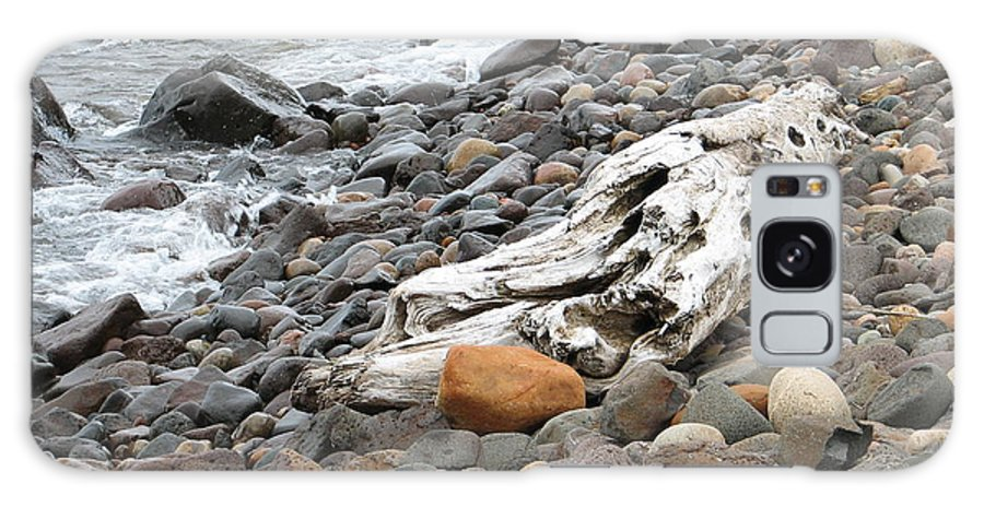 Driftwood Galaxy Case featuring the photograph Washed Up by Kelly Mezzapelle