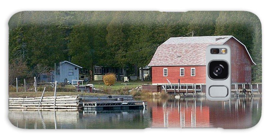 Washington Island Galaxy S8 Case featuring the photograph Washington Island Harbor 6 by Anita Burgermeister