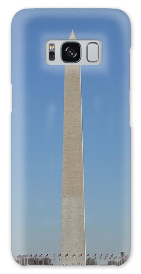 Washington Galaxy S8 Case featuring the photograph Washington Monument by Alan Espasandin