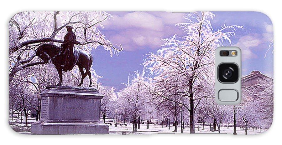 Landscape Galaxy S8 Case featuring the photograph Washington Square Park by Steve Karol