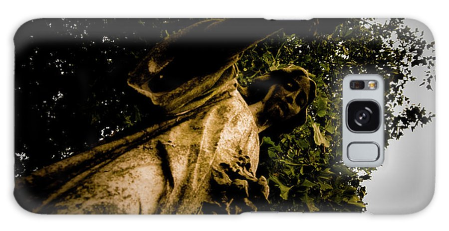 Angel Galaxy S8 Case featuring the photograph Watching Over by Grebo Gray