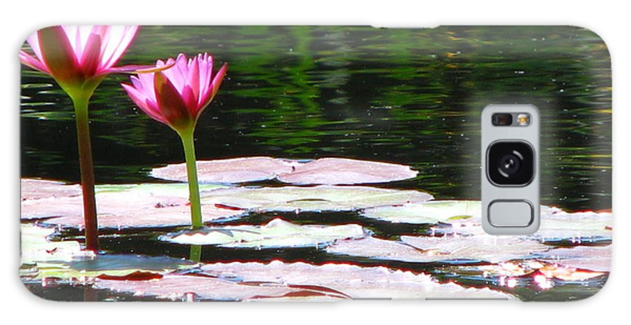 Patzer Galaxy Case featuring the photograph Water Lily by Greg Patzer