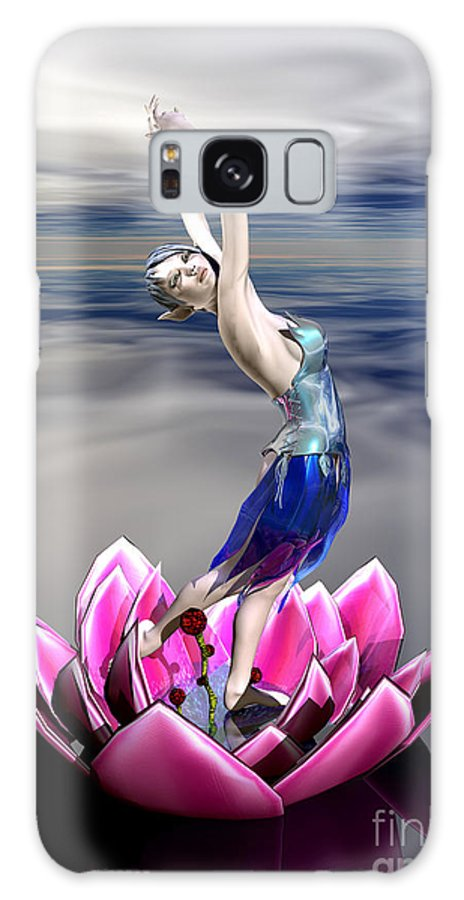 Bryce Galaxy S8 Case featuring the digital art Water Sprite by Sandra Bauser Digital Art