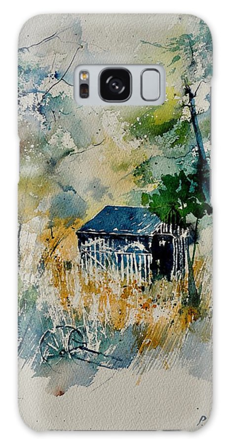 Landscape Galaxy S8 Case featuring the painting Watercolor 015042 by Pol Ledent