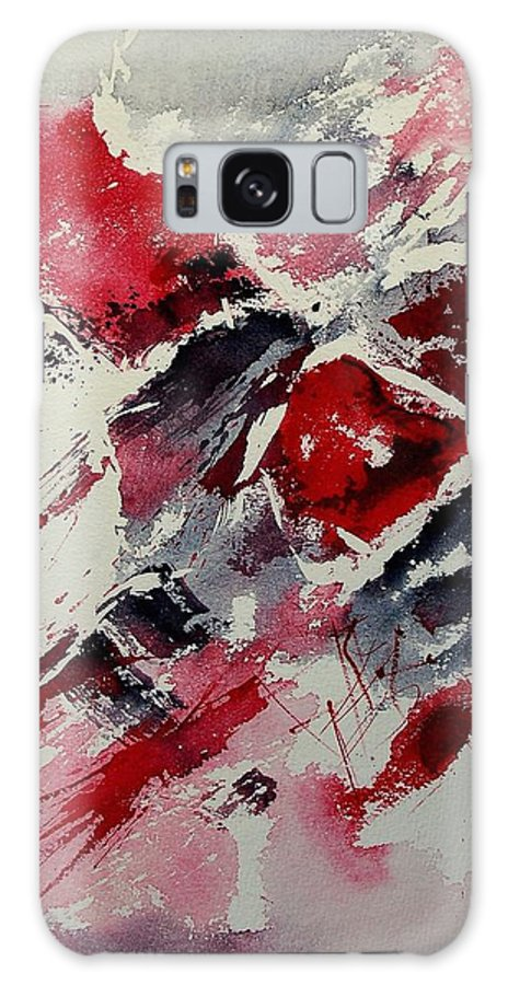Abstract Galaxy Case featuring the painting Watercolor 050407 by Pol Ledent