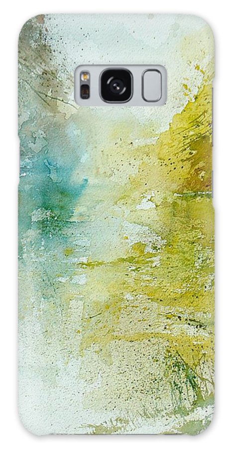 Water Galaxy S8 Case featuring the painting Watercolor 111207 by Pol Ledent