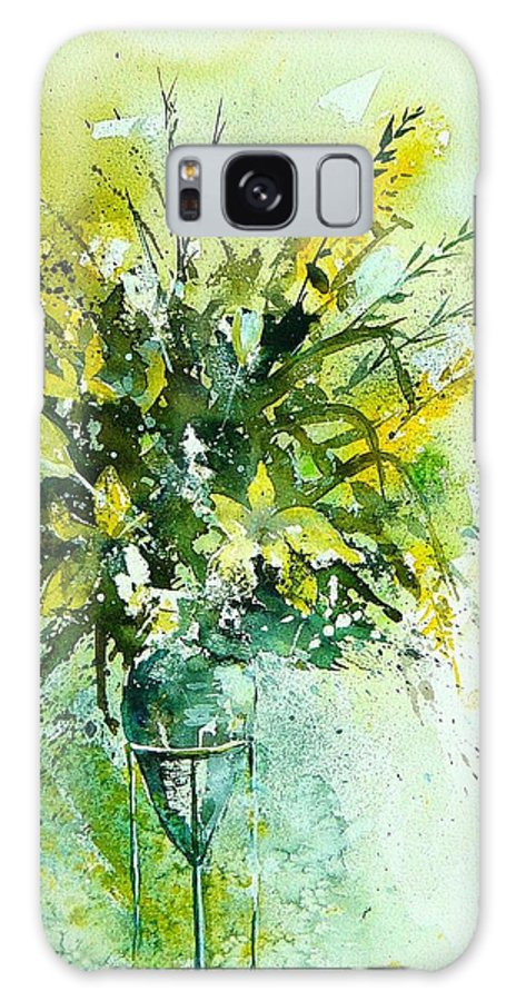 Flowers Galaxy S8 Case featuring the painting Watercolor 120406 by Pol Ledent