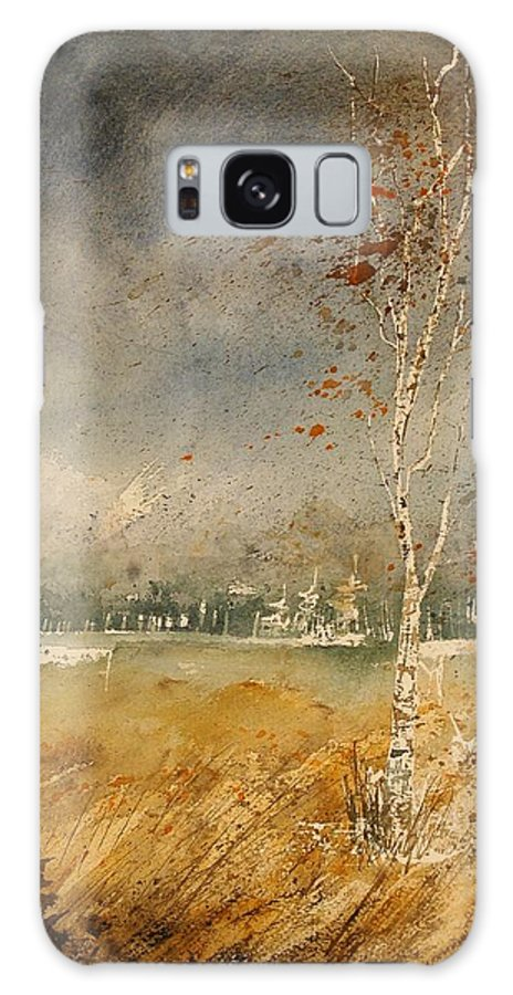 Tree Galaxy S8 Case featuring the painting Watercolor 190307 by Pol Ledent