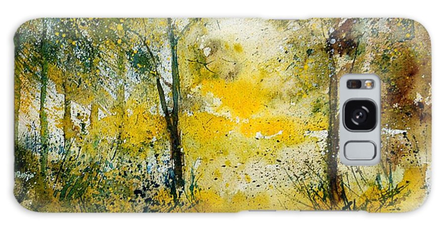 River Galaxy S8 Case featuring the painting Watercolor 210108 by Pol Ledent