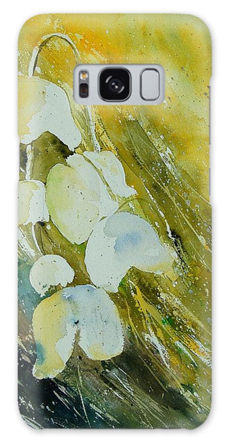 Flowers Galaxy S8 Case featuring the painting Watercolor 220508 by Pol Ledent