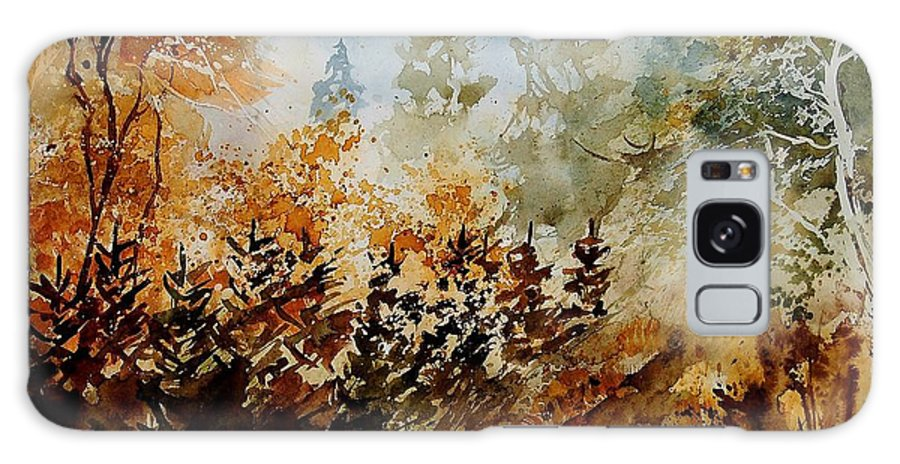 Tree Galaxy Case featuring the painting Watercolor 250607 by Pol Ledent