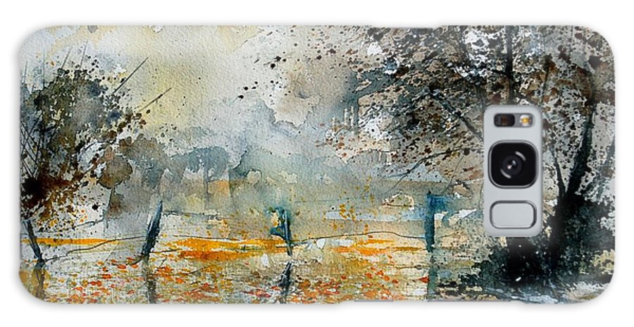 Water Galaxy S8 Case featuring the painting Watercolor 261006 by Pol Ledent
