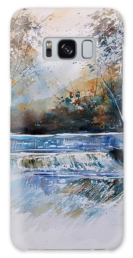 Water Galaxy S8 Case featuring the painting Watercolor 902021 by Pol Ledent