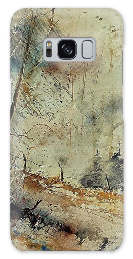 River Galaxy S8 Case featuring the painting Watercolor 902190 by Pol Ledent