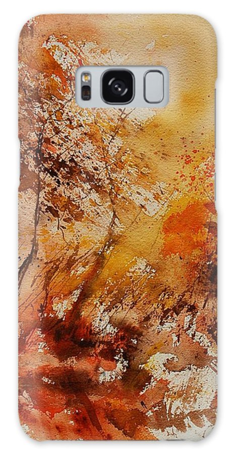 Tree Galaxy S8 Case featuring the painting Watercolor 903071 by Pol Ledent