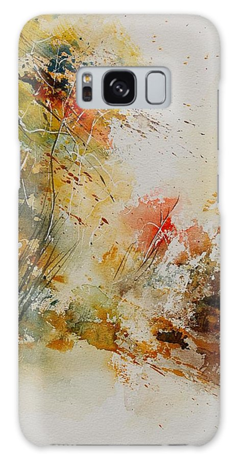 Tree Galaxy S8 Case featuring the painting Watercolor 905022 by Pol Ledent