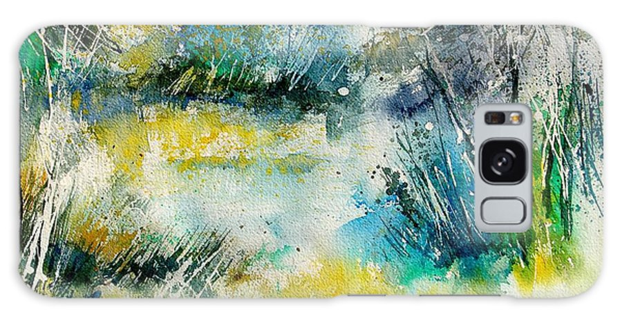 Water Galaxy S8 Case featuring the painting Watercolor 906020 by Pol Ledent