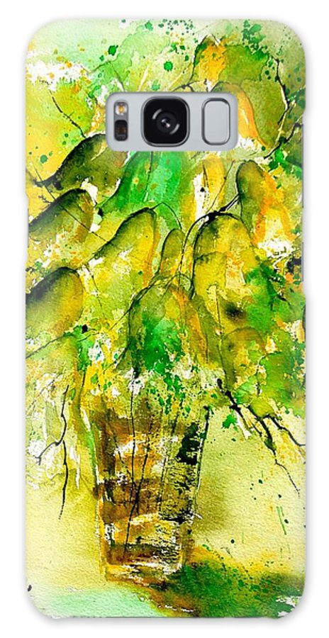 Flowers Galaxy S8 Case featuring the painting Watercolor 90801 by Pol Ledent
