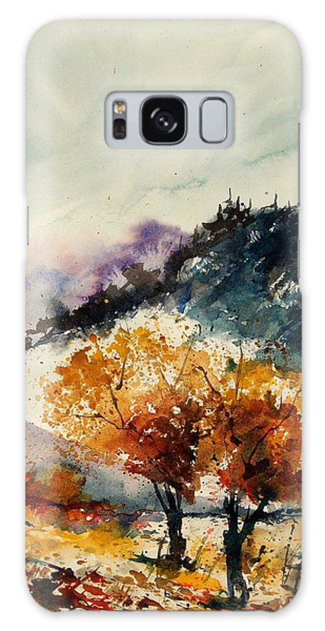 Tree Galaxy S8 Case featuring the painting Watercolor 908041 by Pol Ledent