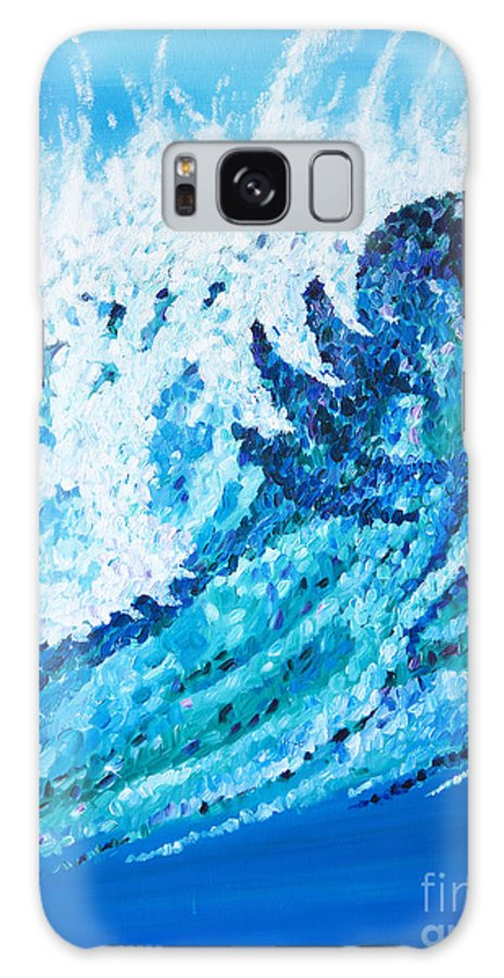 Ocean Galaxy S8 Case featuring the painting Watercolor by JoAnn DePolo