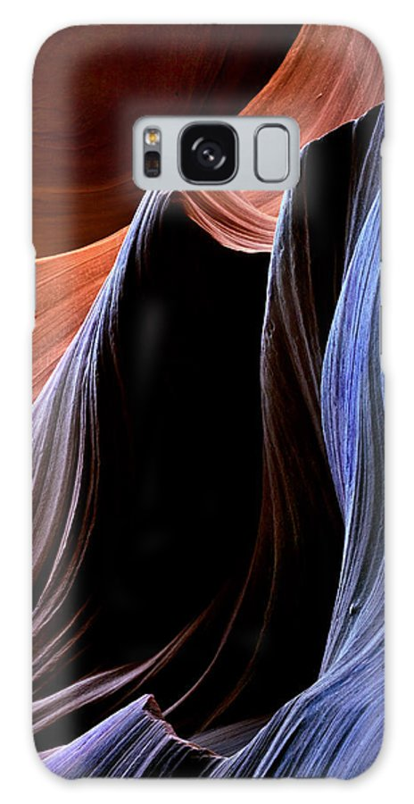 Sandstone Galaxy S8 Case featuring the photograph Waves by Mike Dawson