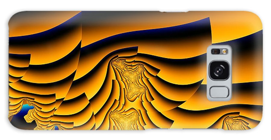Fractal Image Galaxy S8 Case featuring the digital art Waves Of Grain by Ron Bissett