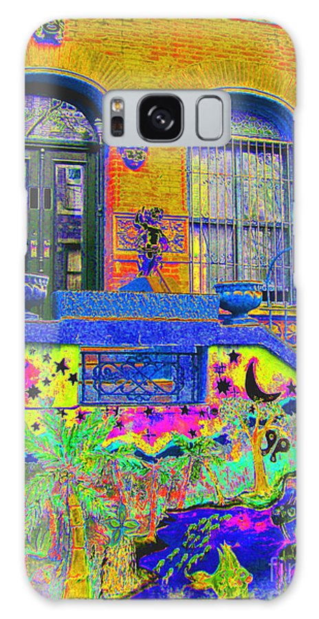 Harlem Galaxy S8 Case featuring the photograph Wax Museum Harlem Ny by Steven Huszar