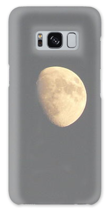 Waxing Galaxy S8 Case featuring the photograph Waxing Moon by Valerie Ornstein